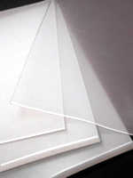 Silicone Sheets Available In Clear Or Red In Various